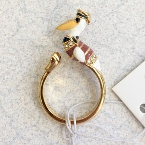 Adorable NWT KATE SPADE PELICAN ring! 🐣